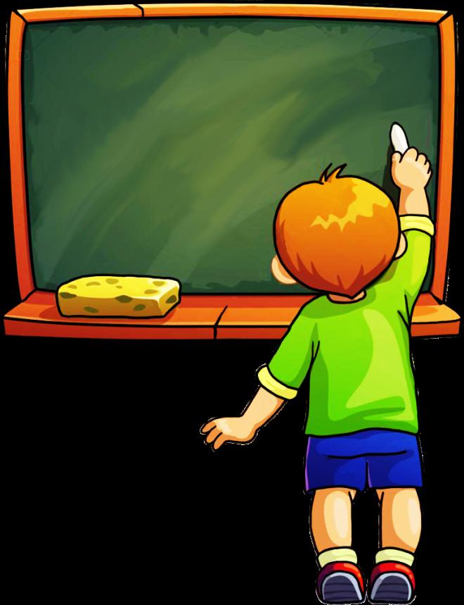 ученик у доски, школа, урок